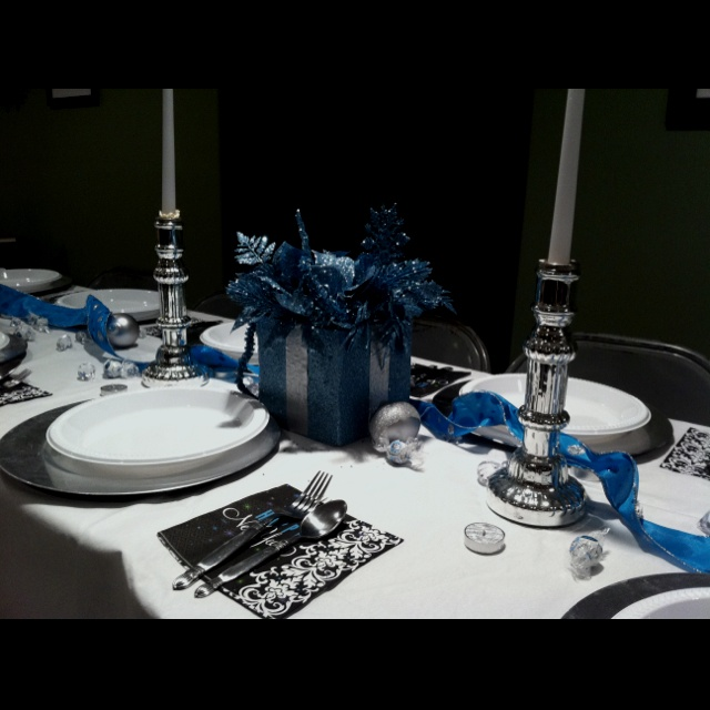 New years table decorations christmas pinterest - New year table decorations ...