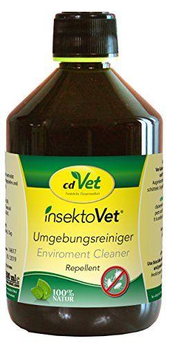 Aus der Kategorie Teppichsprays  gibt es, zum Preis von EUR 29,47  Produktbeschreibung insektoVet Umgebungsreiniger ist ein Biozid zur Bekämpfung von Ungeziefer und Insekten in der Umgebung. Durch seine Kombination aus ätherischen Ölen erfüllt insektoVet Umgebungsreiniger alle Ansprüche an eine Alternative zu den üblichen synthetischen Toxinen. - breites Einsatzgebiet in Haus, Hof, Stall, Gewerbe etc. - enthält den einzigartigen pflanzlichen Wirkstoff Geraniol - schneller Wirkungseintritt…