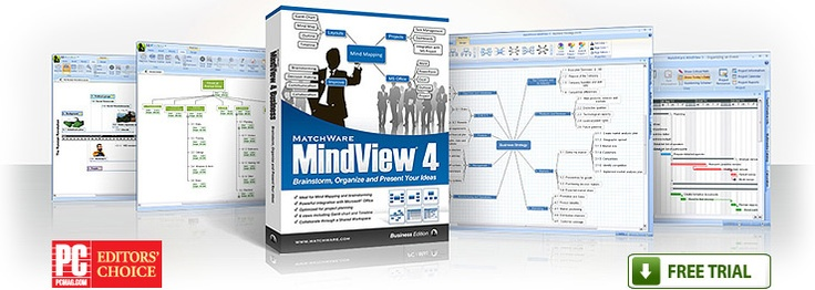 MindView Mind Mapping Software - Probably the Cadillac of mind mapping software. We attended a demo of MindView4. Its integration with Microsoft Office and ability to generate Gantt charts was amazing. Educational pricing available.