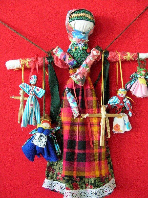 МАСТЕР-КЛАСС: Обережные куклы. Параскева-Пятница