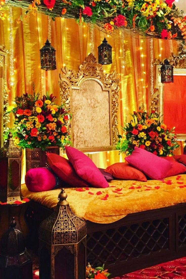 Arabian night mehndi evening decor by 1SW Events