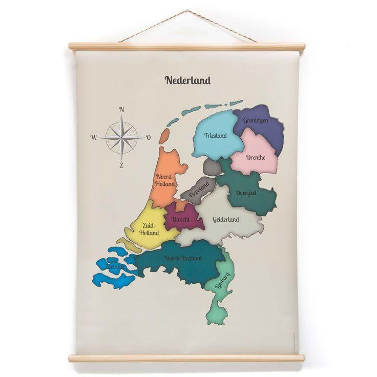 De schoolplaat Landkaart is een geweldige blikvanger voor aan de muur. Op werkdagen voor 20.00 uur besteld, de volgende dag in huis.