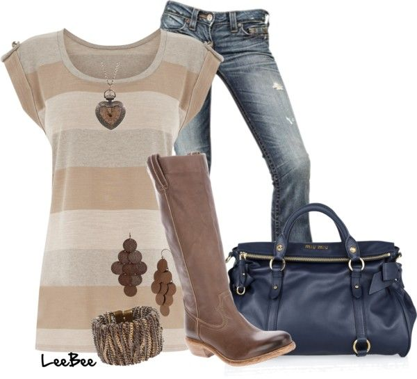 Cute:)Woman Fashion, Cowboy Boots, Shirts, Fall Outfit, Polyvore, Cute Outfit, Bags, Women Jeans, Brand Clothing