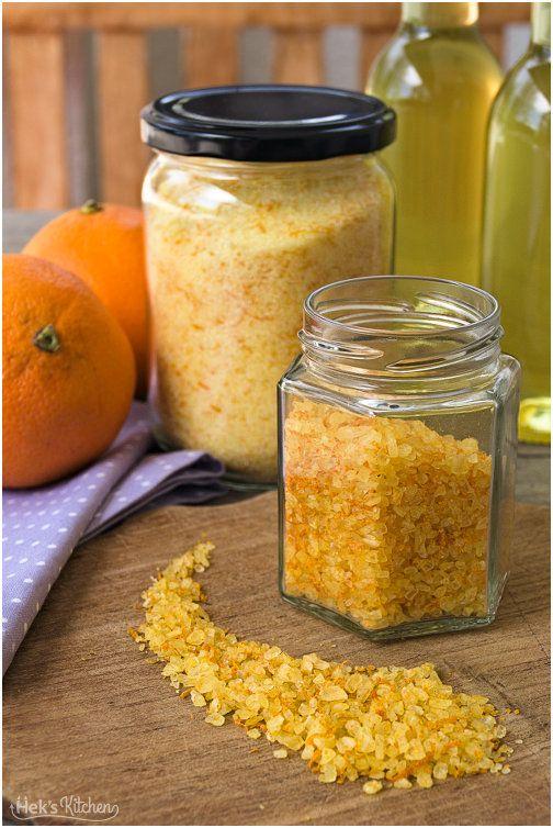 Orangenzucker, Orangensalz, Orangensirup | Hek's Kitchen