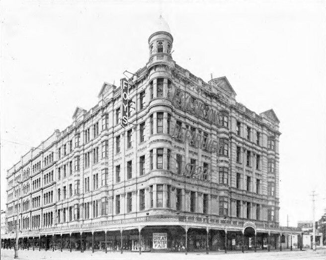 Foys Department Store on Rundle St,Adelaide in South Australia (year unknown).