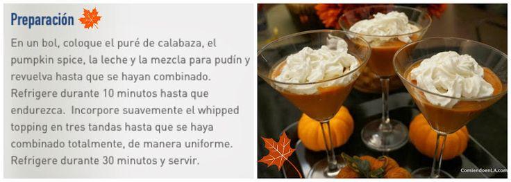 Cómo preparar un Mousse de Calabaza y Especias