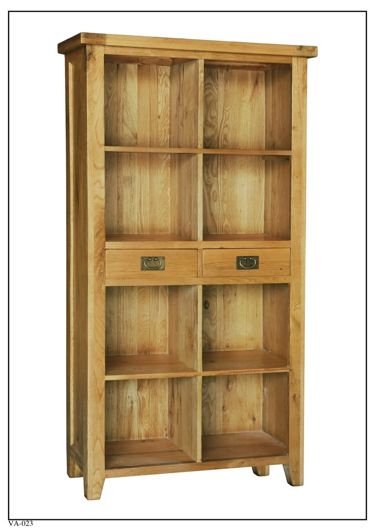 VA-023 Large Bookcase  w/ Two Drawers (1000mm x 400mm x 1875mm High)