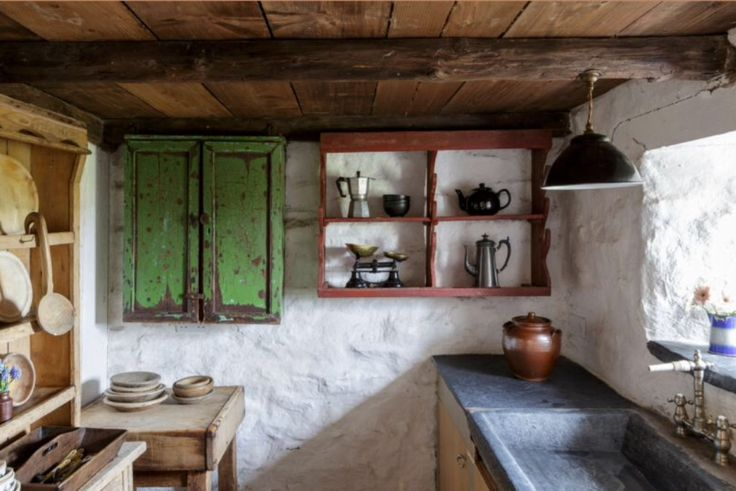 """This cottage kitchen is from our feature """"My little Wales"""""""