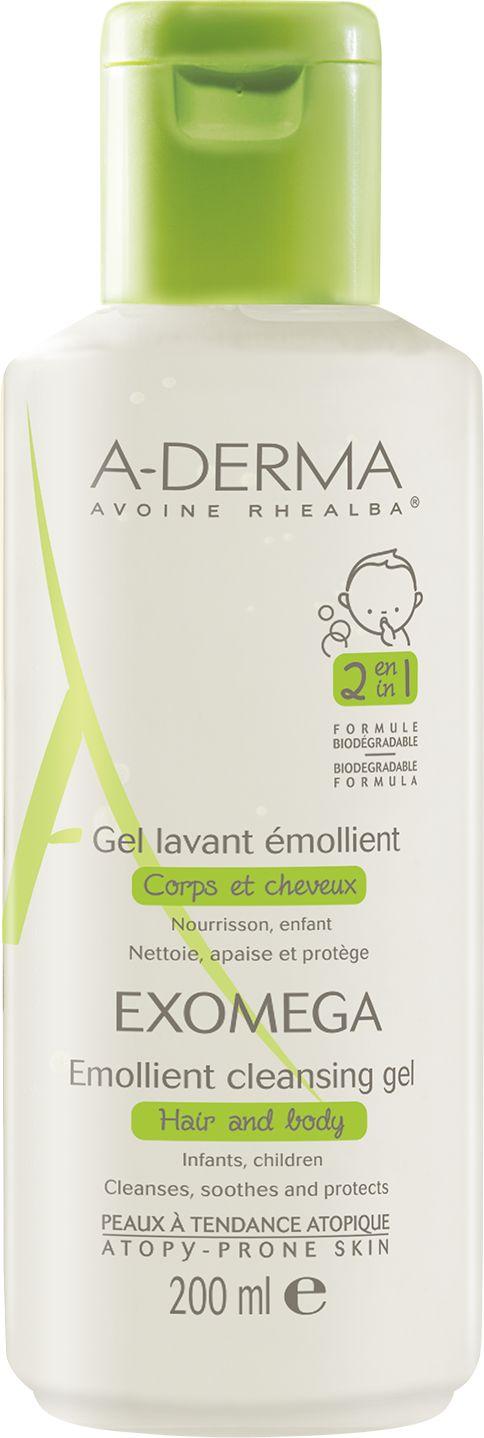 A-Derma Exomega Emollient Cleansing GelΚαθημερινή Υγιεινή Για Το Ατοπικό & Πολύ Ξηρό Δέρμα & Τα Μαλλιά Για Βρέφη & Παιδιά 200ml. Μάθετε περισσότερα ΕΔΩ: https://www.pharm24.gr/index.php?main_page=product_info&products_id=12894