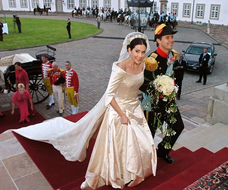 Royal Wedding Mary Donaldson And Crown Prince Frederik Red Carpet