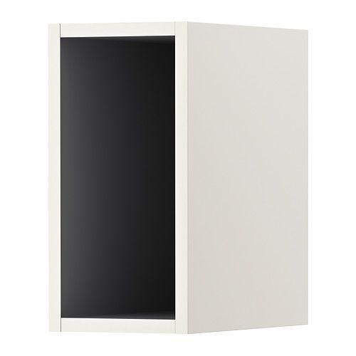 TUTEMO Åpent skap - hvit/grå, 20x37x40 cm - IKEA 1 STK
