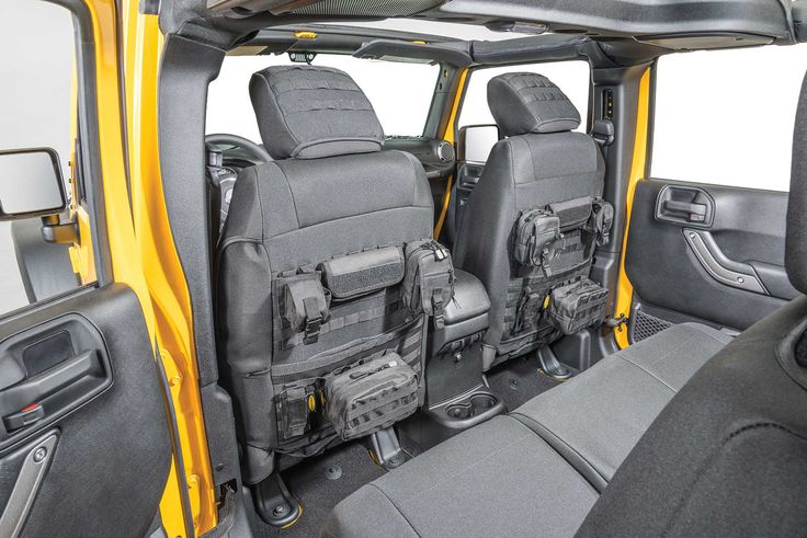 Smittybilt Front G.E.A.R. Custom Fit Seat Covers for 07-12 Jeep® Wrangler & Wrangler Unlimited JK | Quadratec