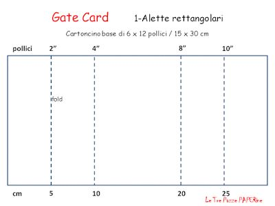 Le Tre Pazze PAPERine: GATE FOLD CARD 1