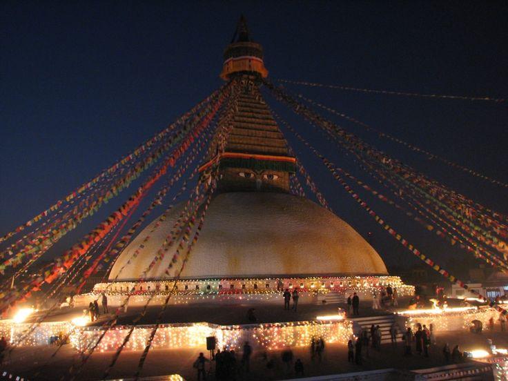 Boudinath Temple, Kathmandu Nepal