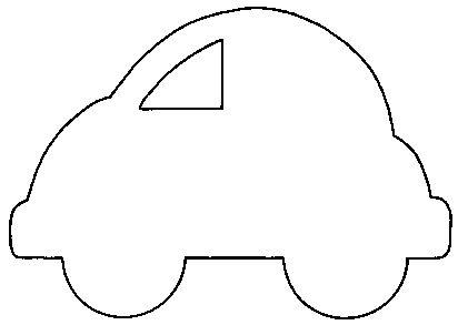 Car shape for transportation flannel