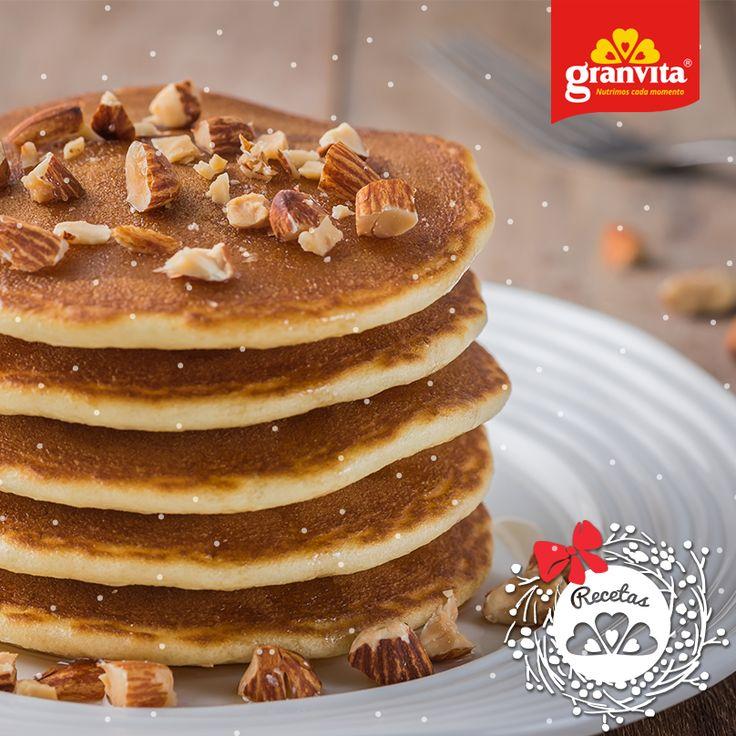 #Receta: Pastel de zanahoria con Harina de Hotcakes Granvita. 🥕  Fácil como un desayuno de fin de semana. 😎