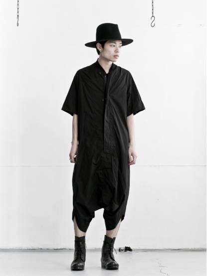 MEN DESIGNER :: Niløs :: 16SS :: Niløs Jumpsuit / BLACK