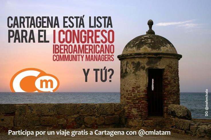Congreso Iberoamericano Community Managers 2012 Cartagena