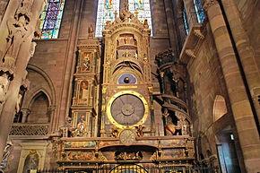 Horloge astronomique Cathédrale Notre Dame Strasbourg, France