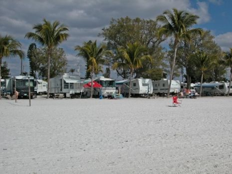 The First Time I Saw The Red Coconut Rv Park On Fort Myers