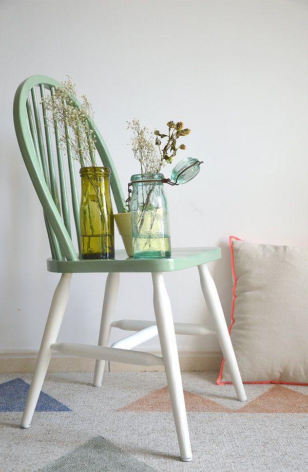 Les 25 meilleures id es de la cat gorie chaises windsor for Barreau de chaise