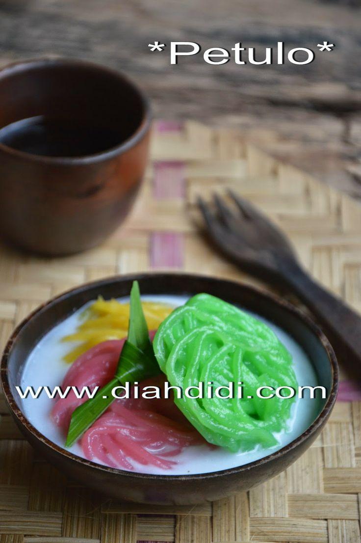 Diah Didi's Kitchen: Cetakan Putu Mayang / Petulo Plastik