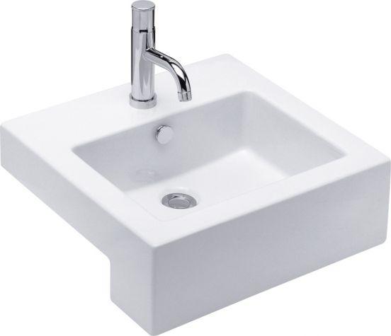 Quado II Semi Recessed Basin