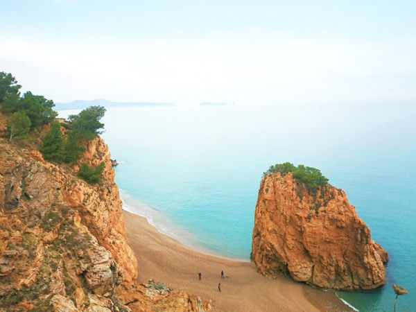 Barcelona's city beaches sure are nice but these nearby beaches are worth leaving town for.