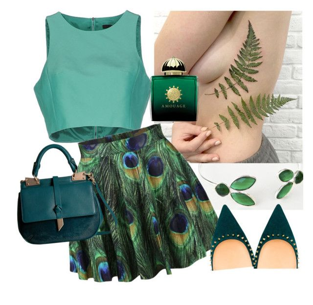 Epic Woman by glirendree on Polyvore featuring moda, TIBI and Foley + Corinna