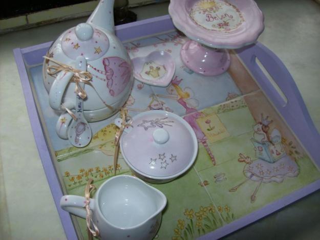 Pintura sobre porcelana