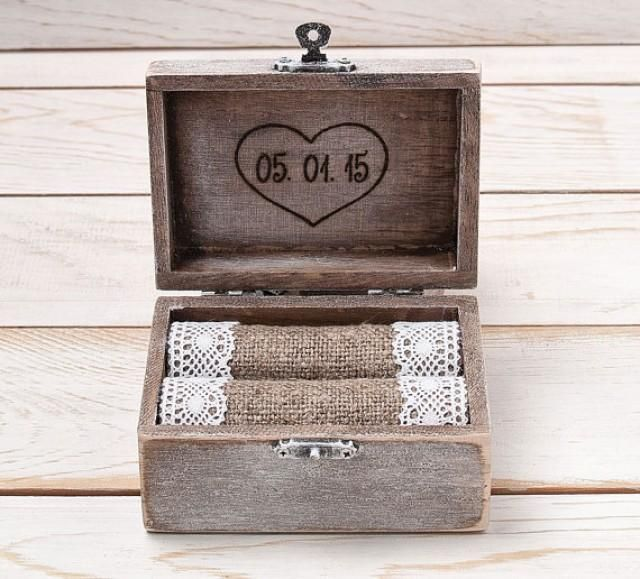 wood box ring holders - Google Search