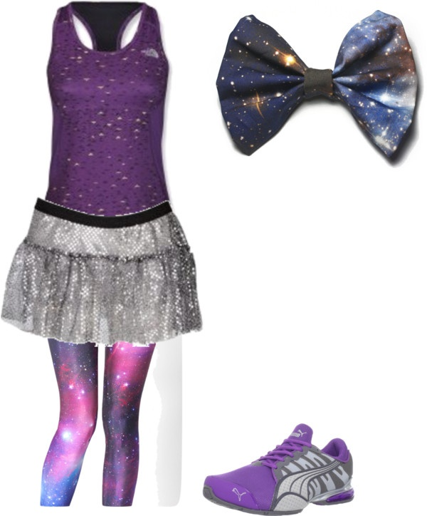 """Space Mountain"" running costume"