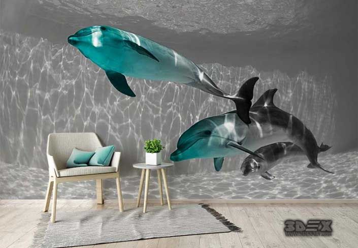 New 3D wallpaper images for living room walls  A complete guide to choose and install 3D wallpaper for living room, bedroom, kid's room walls.