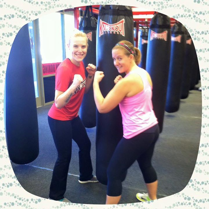 """Ashley Wentz is our Goodyear member of the week. Ashely shared her story with us: """"I wanted to start boxing as a means to release some anger and aggression while going through a divorce. My friend and I had tried another boxing establishment but didn't feel like it was the right place for us. When we arrived at Knockout we felt right at home from the moment we walked in. I've learned so much about boxing and kickboxing while pushing myself physically."""