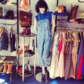 Cute denim #overalls #vintage #onesies #fashion