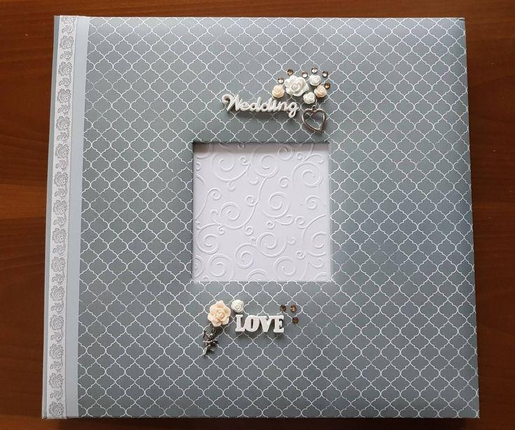 Promo 15% OFF Swarovski Big 35/35cm Wedding Photoalbum Scrapbook memories by HomemadeTreasuresss on Etsy