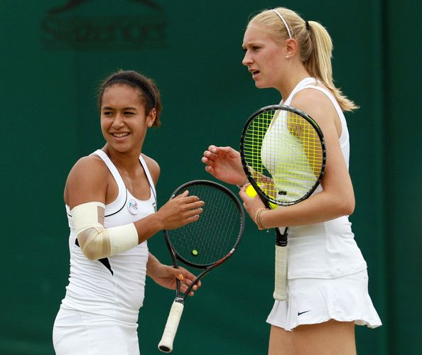 Heather Watson - The Championships - Wimbledon 2011: Day Six