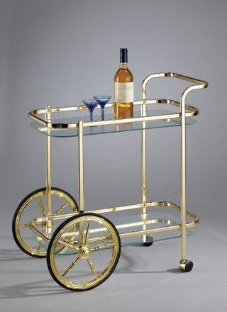 Glas wijn Trolley winkelwagen - SA048 | prijs opvragen