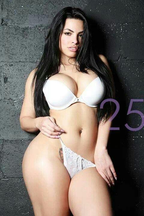 Plus Size Latinas Lingerie