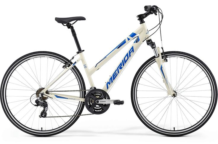 Rower crossowy Merida Crossway 10-V L 2015 White