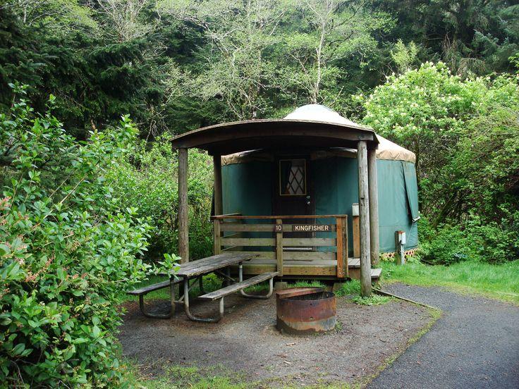 Oregon State Beaches Yurts
