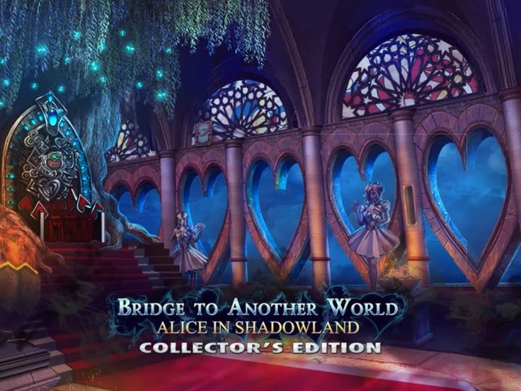 Download: http://wholovegames.com/hidden-object/bridge-to-another-world-3-alice-in-shadowland-collectors-edition.html Bridge to Another World 3: Alice in Shadowland Collector's Edition PC Game, Hidden Object Games. Are you the true Alice? Stop the evil Princess of Hearts and discover your true destiny! Alice was dragged into the Shadowland against her will – can she find a way back home? Download Bridge to Another World 3: Alice in Shadowland Collector's Edition Game for PC for free!