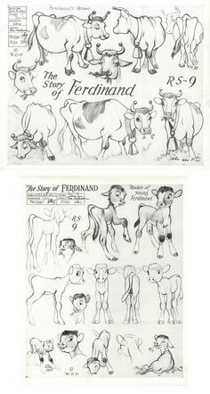 Models-Ferdinand I CHARACTER DESIGN REFERENCES | Find more at https://www.facebook.com/CharacterDesignReferences if you're looking for: #art #character #design #model #sheet #illustration #best #concept #animation #drawing #archive #library #reference #anatomy #traditional #draw #development #artist #how #to #tutorial #animal #cow #bull