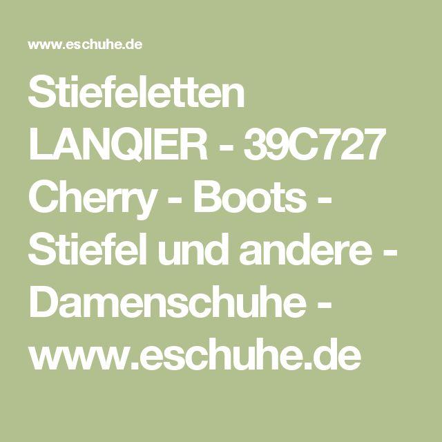 Stiefeletten LANQIER - 39C727 Cherry - Boots - Stiefel und andere - Damenschuhe - www.eschuhe.de
