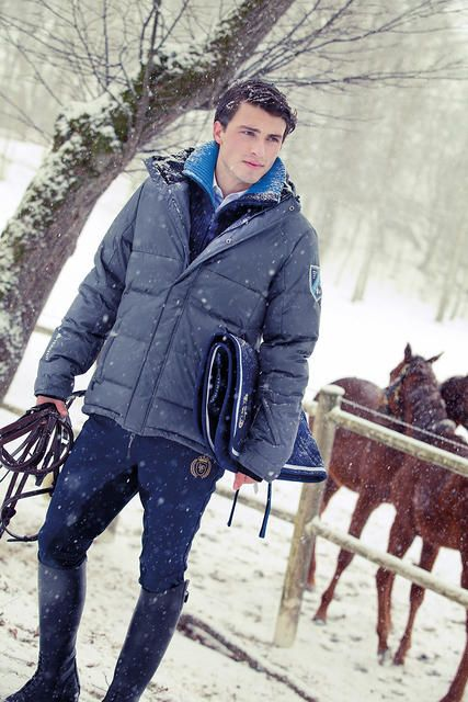 Winter, Equestrian, Horse Man Stylish