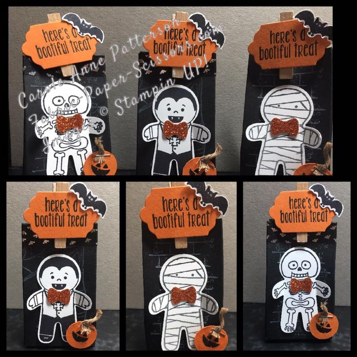 stampin up cookie cutter halloween tags - Stampin Up Halloween Ideas