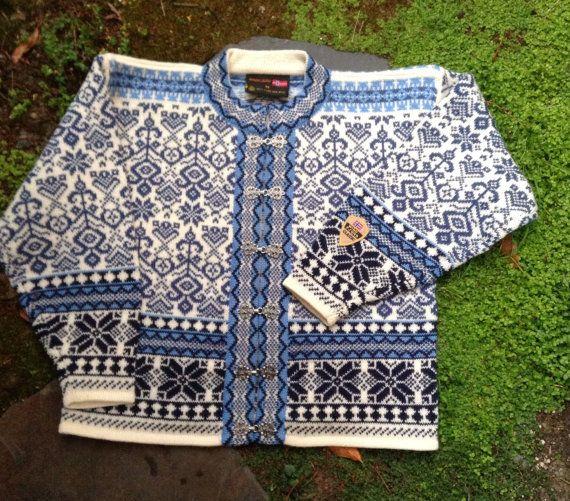 Beautiful Norwegian Sweater by Windfjord. Size M