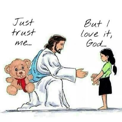 I❤️️️Jesus ~ Trust in God. Give Him everything. He has something better planned for you.