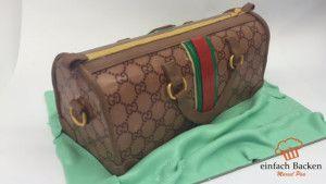 Cucci Handtaschen Torte Tutorial Fondant Handtasche