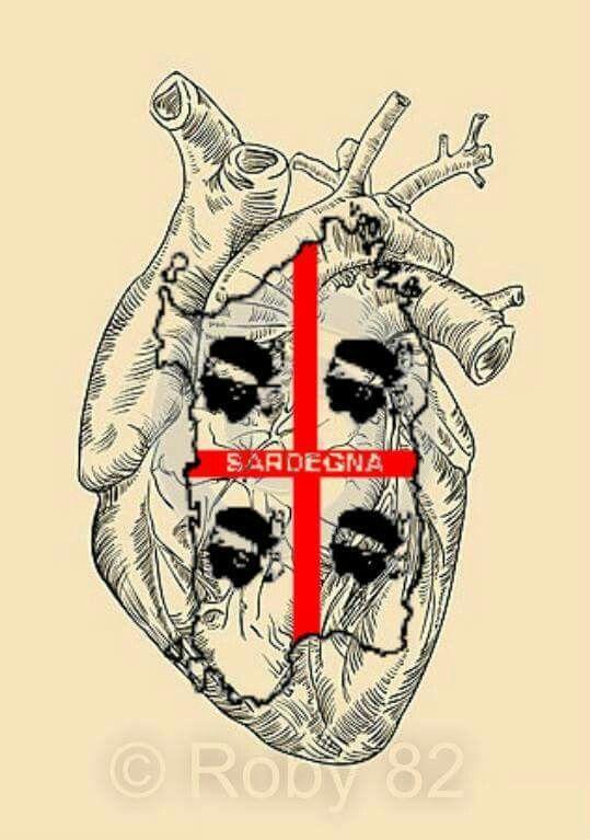 Cuore sardo..Sardegna nel cuore.. Cerdeña en el corazón!